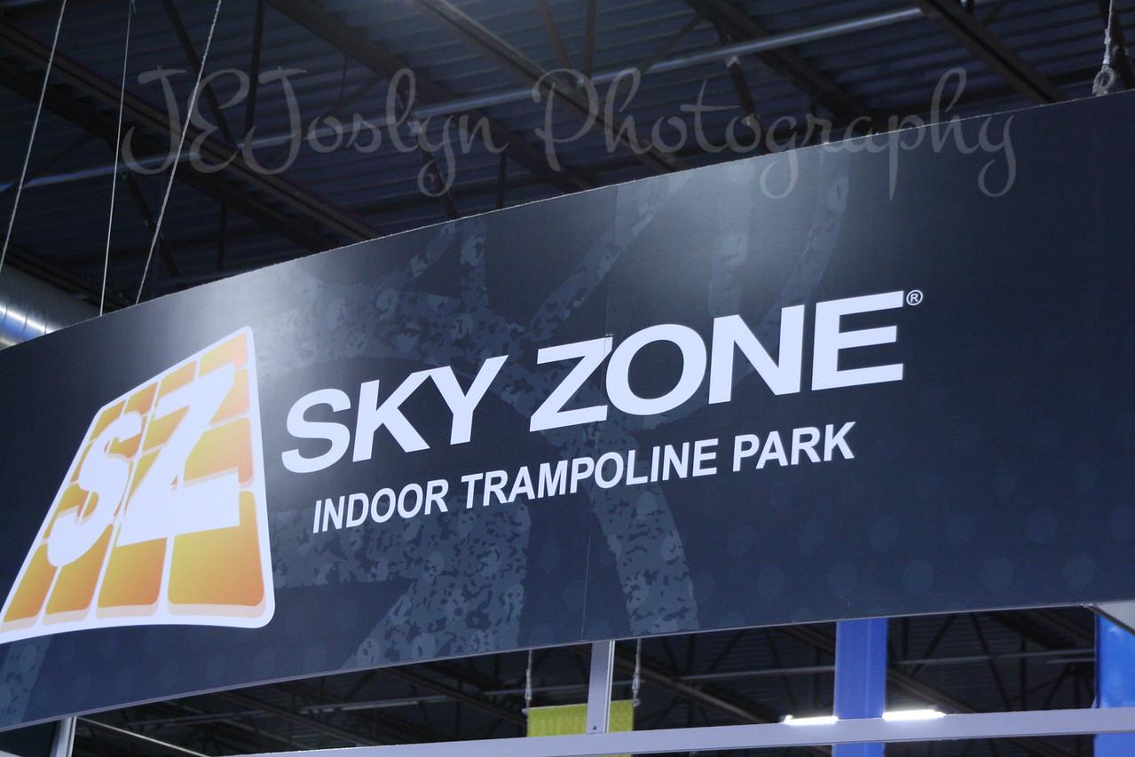 RJs 4th BDay, at SkyZone 5-7-2013