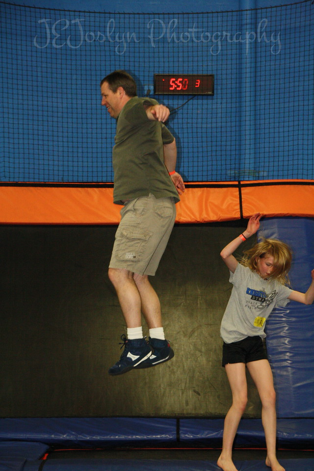 RJs 4th BDay, at SkyZone 5-7-2013