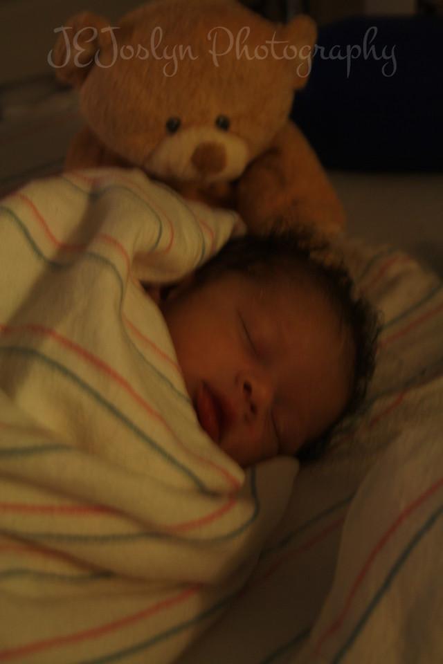 Baby RJ, at Fairview University of Minnesota Hospital, May 22, 2009.