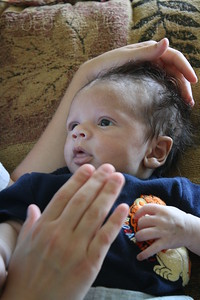 RJ-Homecoming party, 6-13-09, born May 9, 2009