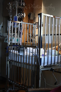 Baby RJ's bed at St. Cloud Hospital, St. Cloud, Minnesota, May 20, 2009.