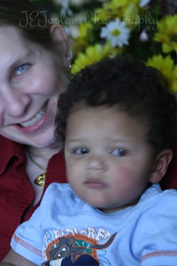 GS-1's 1st birthday, and this is with his Auntie KJ, held on May 9, 2010.