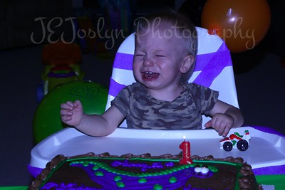 Kenny 1st BD Party, November 17, 2010, but party was on November 12, 2011, so everyone could be there.