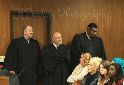 National Adoption Day, 11-21-2015.  Anoka County Judges that persuaded over the adoption of 14 children by 9 families.   Anoka County Government Center