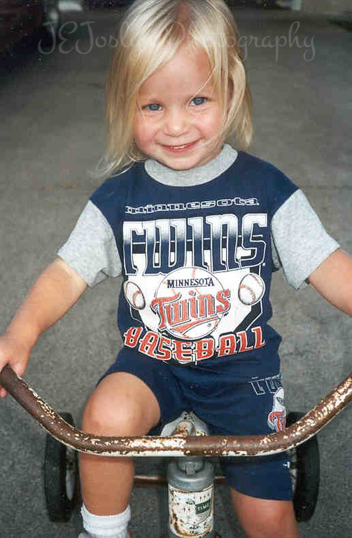 Twins Fan - close to two years old.