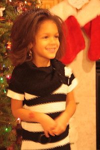 Rylee, Dec 9, 2012, Grandma Hat's birthday.