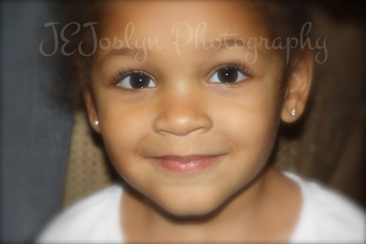 My Granddaughter #4, on Thanksgiving Day, 2010, 3 years and 3 months old.