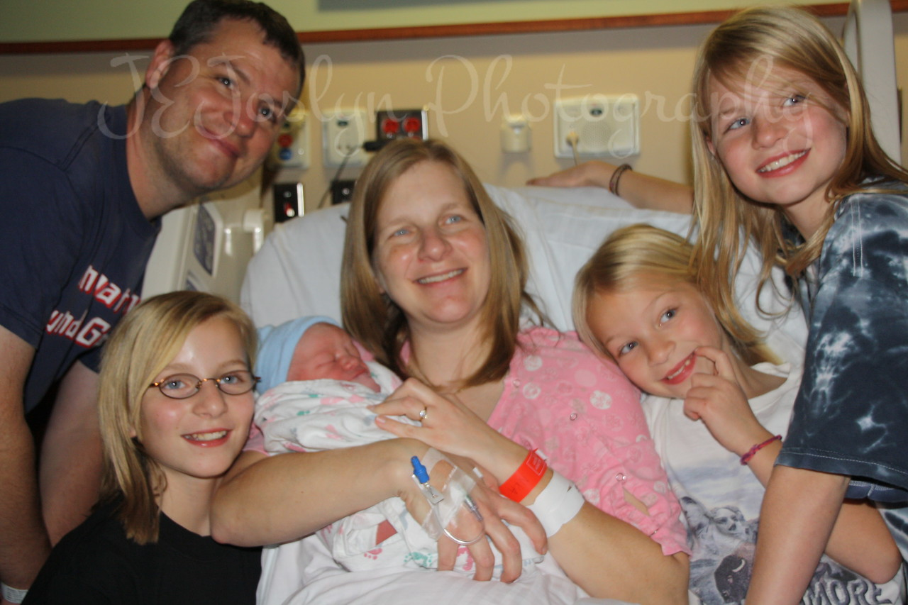 KPJ, GS-2, born November 17, 2010, 4:30 p.m.  The new family, everybody is here now.