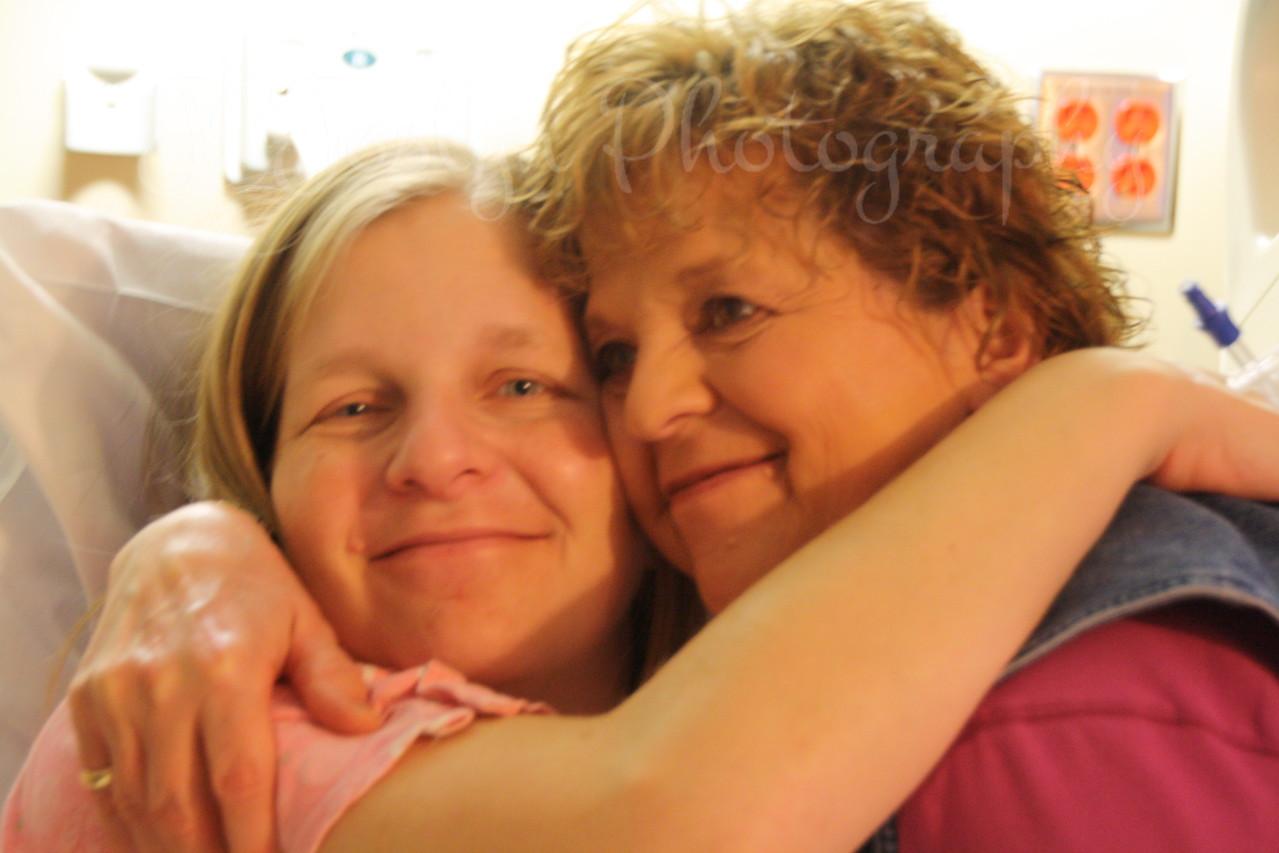 KPJ, GS-2, born November 17, 2010, 4:30 p.m.  Mom and her Mom