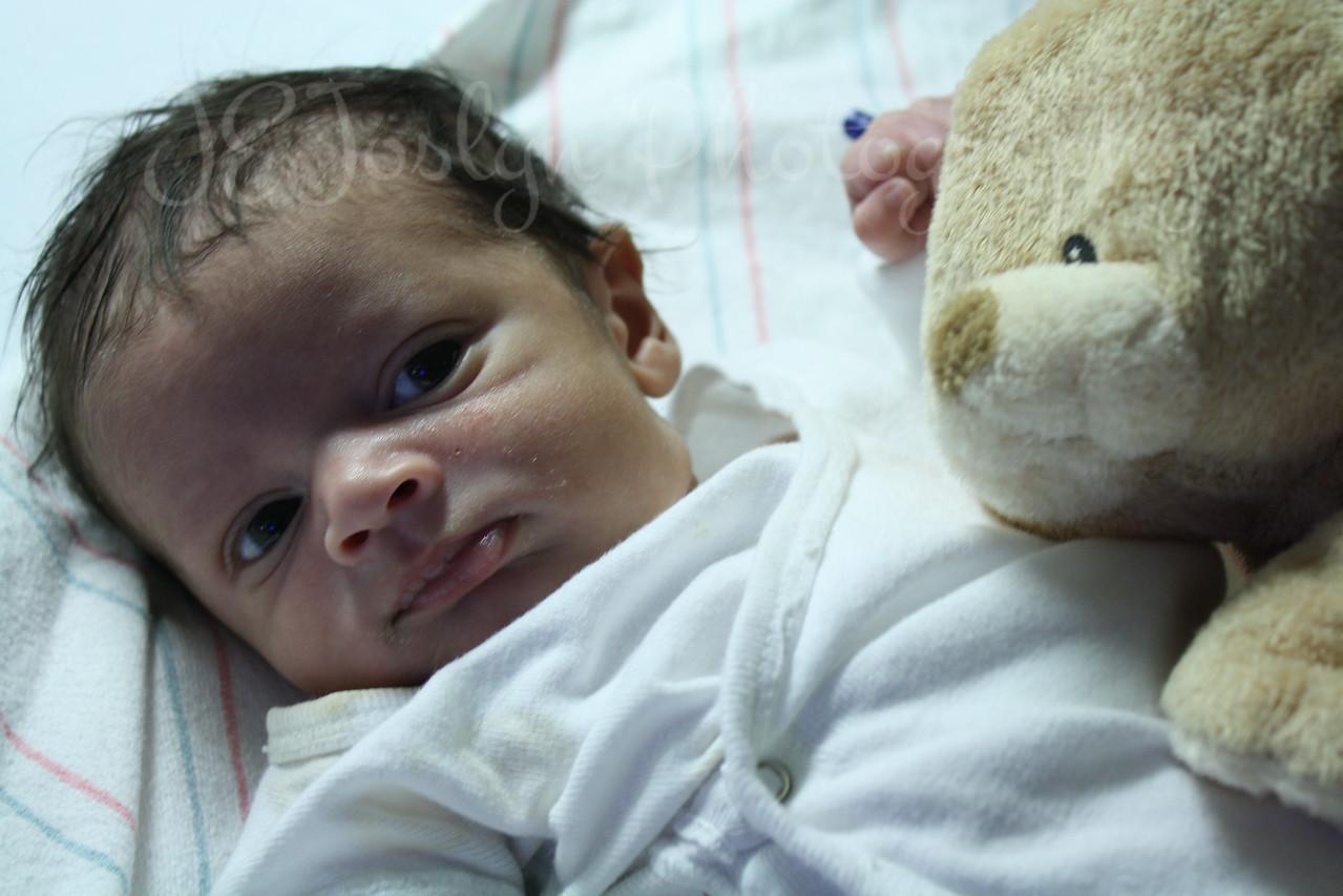 RJ - three weeks old, born May 9, 2009