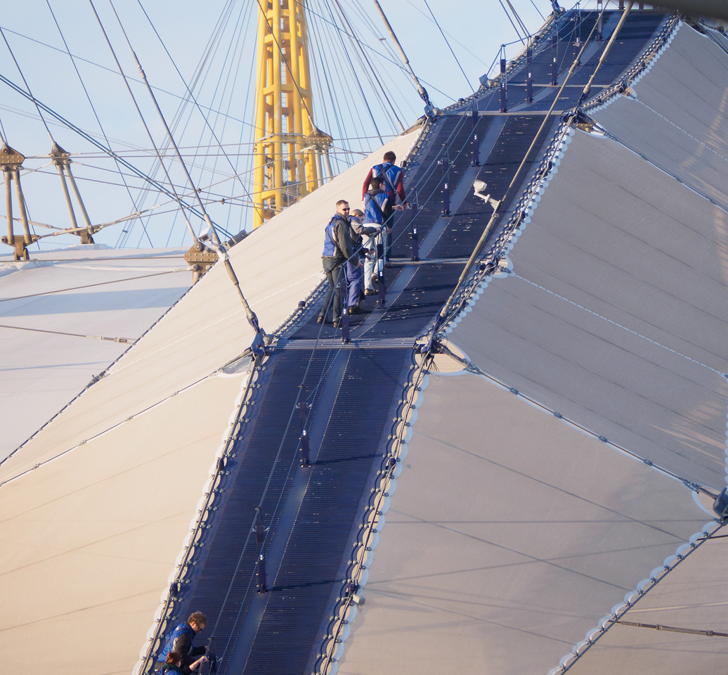 The route over the O2