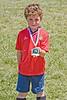End of season soccer medal