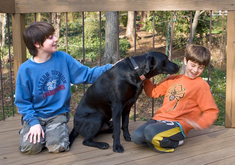 Noah, Sam, Brody, 3-23-08