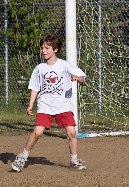 Sam, practicing, 5-4-08