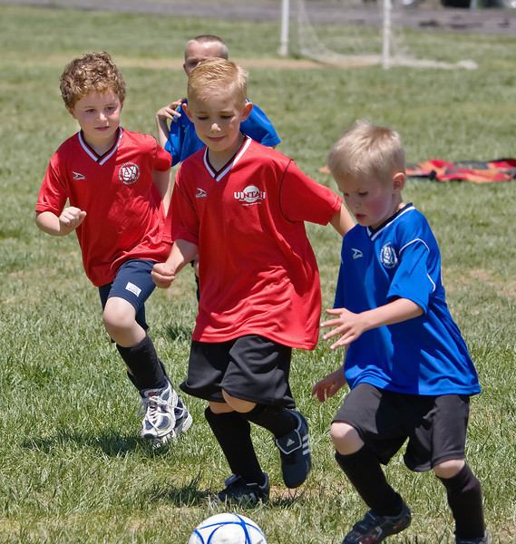 Eli's soccer game, 5-31-08