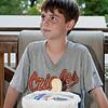 Ninth birthday cake, 6-12-09.