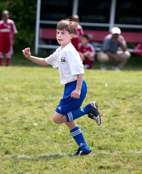 Sam's soccer game, 5-30-09.