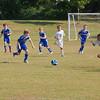 September 19, 2010:  Sam's soccer game.