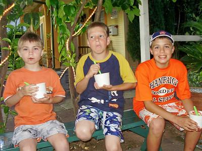 Yolo Berry Yogurt! Evan, Spencer, & Carr
