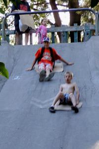 Carr & Spencer on Slide Hill