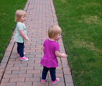 Elise, Annika and Isaiah - May 9, 2014