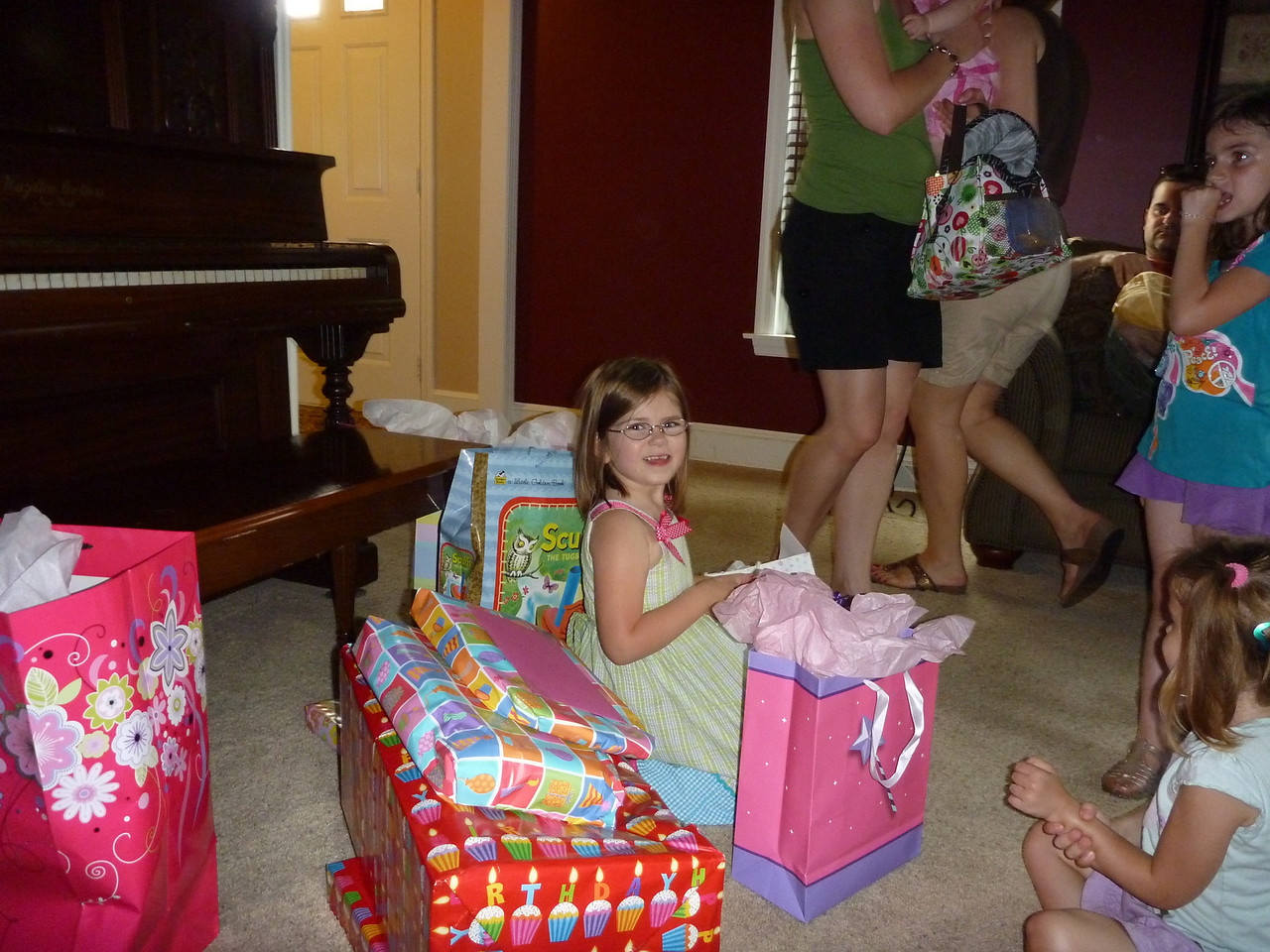 time for the presents
