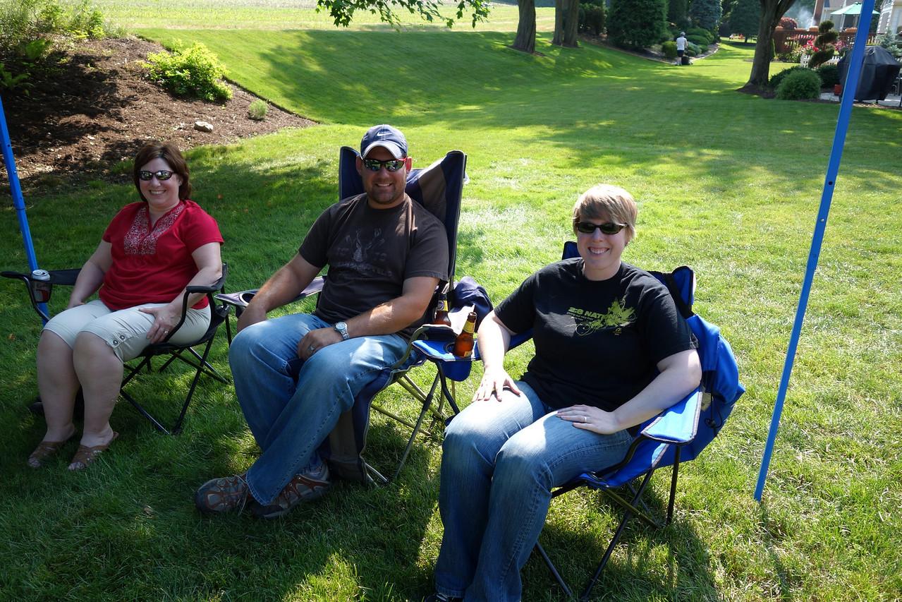 Anna's Grandma Debbie, Uncle Chris and Aunt Erica