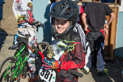 Ben gets 2nd place in the 7-8 novice class