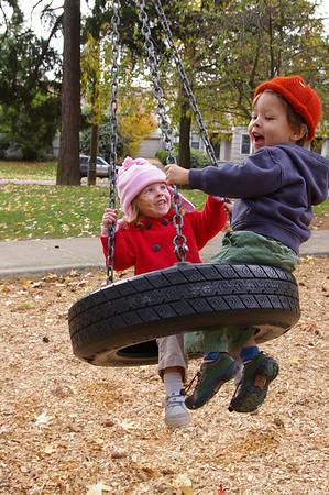 Babysitting Days 5 - Fall 07