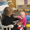 Grandma Kathy can always make Annika smile.