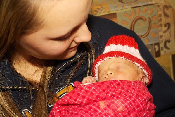 Elise and Anika Meet Their Family