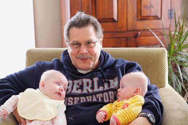 Grandpa Nick and His Grandchildren