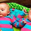 Elise and Annika <br /> Crop of Neg. #5<br /> Fujica ST-705; Kodak Ultra Max