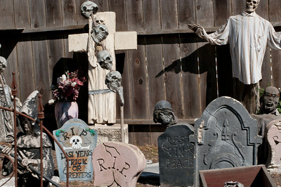 Check out the grave yard.