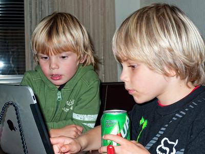 Two internet explorers.