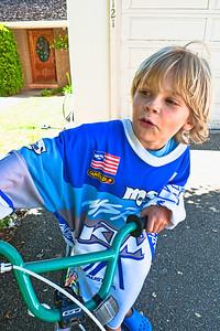 Farfars old KTM jersey.