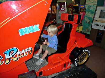 Grand Prix race car.