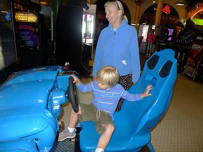 Grant does like steering wheels.