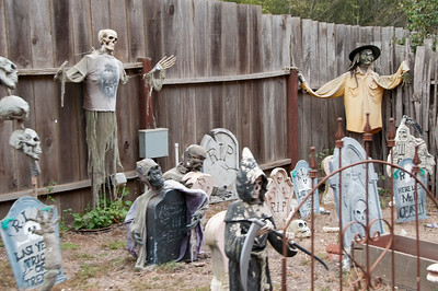 Grim Reaper and friends gather here.