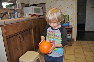 This pumpkin still looks good to me.