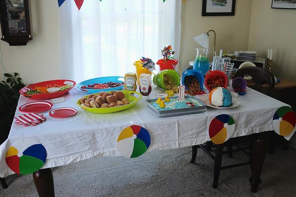 Isaiah's Birthday Party - June 29, 2014