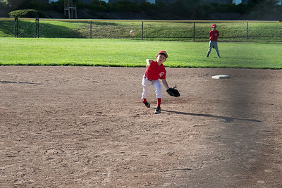 The other teams pitcher in action