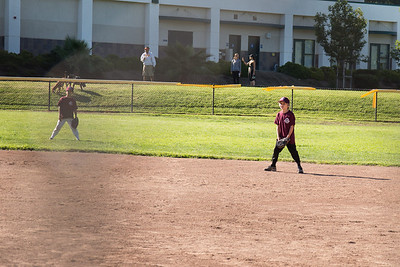 Grant playing 2nd base