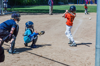 Grant behind the plate