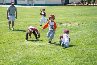 Splitting the fielders