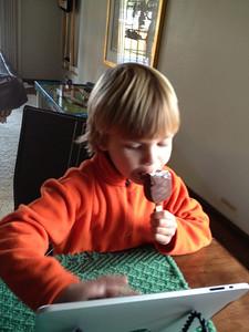 Ice Cream Ummmmmm. (I-Phone Photo)