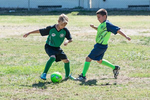 AYSO Practice Game 2016