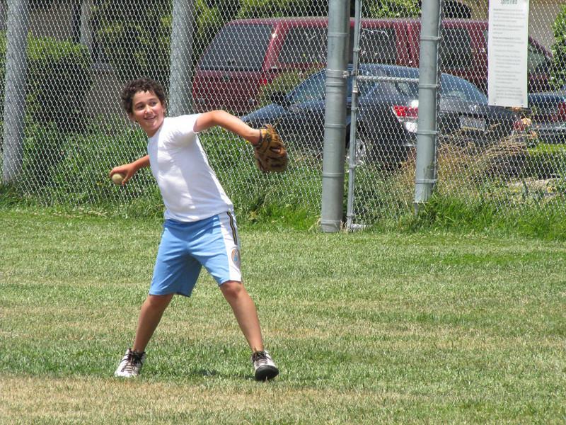 Zack throws