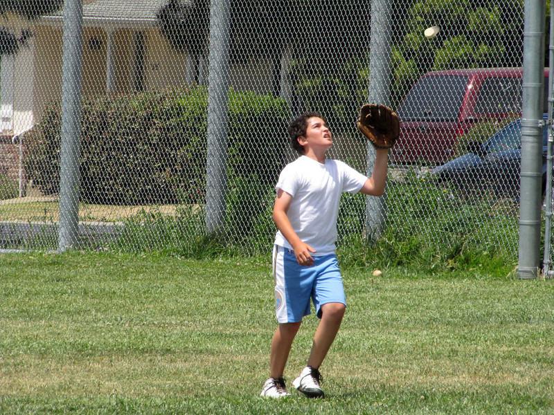 Zack catches
