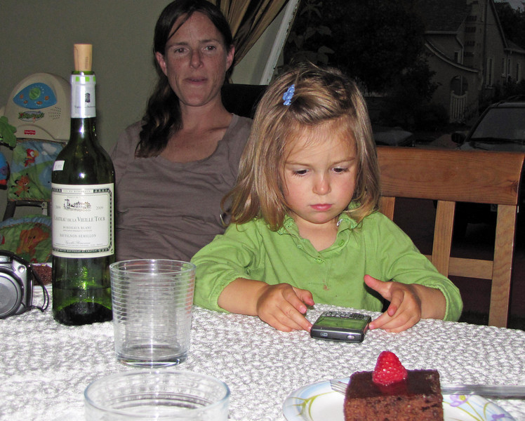 Hazel, Blackberry, Strawberry
